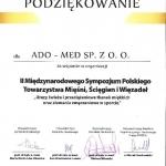 II-Miedzynarodowe-Sympozjum-Polskiego-Towarzystwa-Miesni-Sciegien-i-Wiezadel-podziekowanie