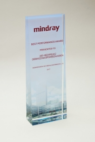 MINDRAY Best performance award