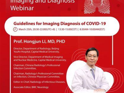 Webinar o obrazowaniu CT w diagnostyce pacjentów z COVID-19