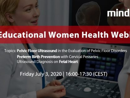 Webinar - EU Educational Women Health - 3 lipca 2020 r.