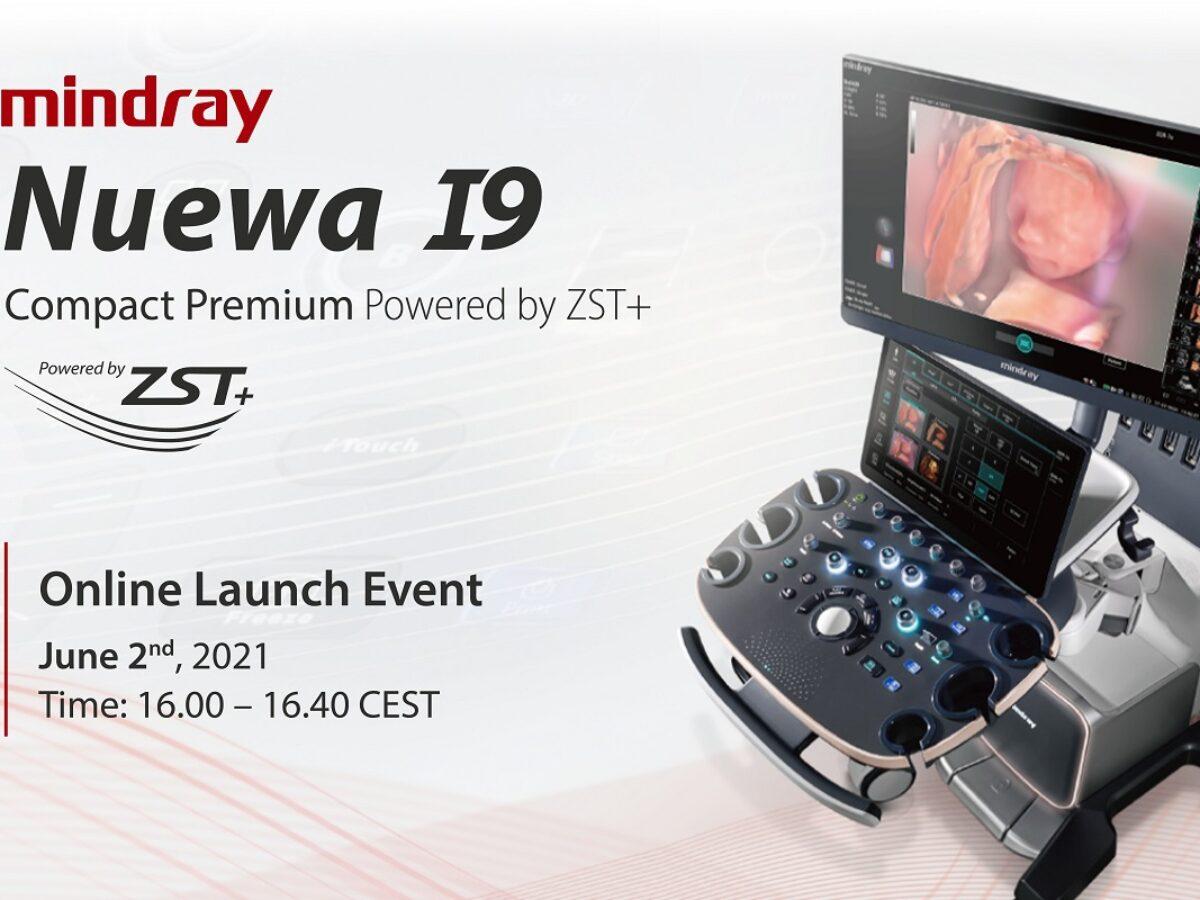 Europejska premiera NOWEGO aparatu ultrasonograficznego NUEWA I9 - 02.06.2021r.
